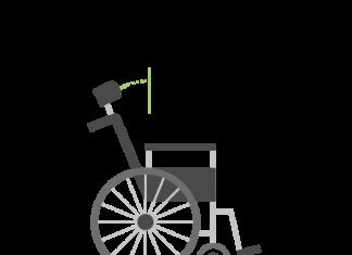 Kørestol illustreret